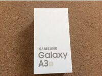 Samsung A3 6. brand new. (2016) May swap iphone