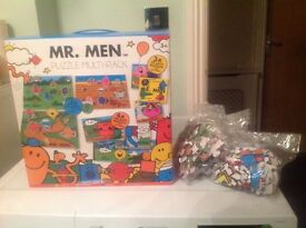 Mr men puzzle set