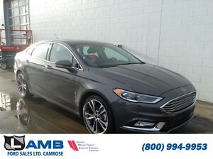 2017 Ford Fusion Titanium 300A AWD Moonroof Navigation Active Pa