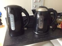 2 electric kitchen kettles