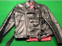 Original Vintage Belstaff Motorcycle jacket, 1977,genuine hide leather