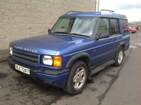 Land rover discovery td5 seven seater