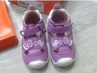 Designer Leather Girls Shoes Size 6