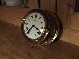 Wempe Ship's 8 day Stiking clock.