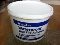 Wickes Waterproof Wall Tile Adhesive 8ltrs approx