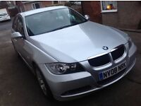 BMW 318D ES Silver 2008 low miles full leather