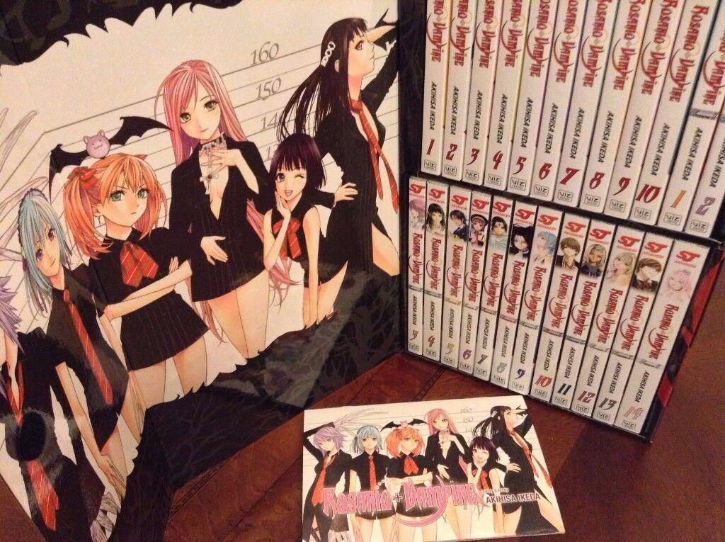 Manga/ Comic Rosario + Vampire