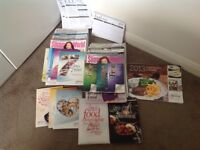 A bundle of Slimming World magazines,books etc to get you started on your New Years resolution