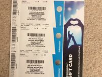 3 Jason Manford tickets available for York Barbican as now unable to go