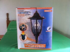 SECURITY LIGHT WITH BUILT IN CAMERA