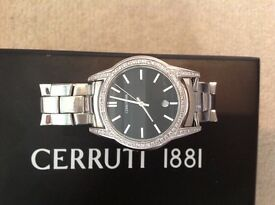 1881 cerruti diamond watch