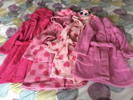 Girls Dressing Gowns (& 1 Boys) - various sizes, from £2 EACH
