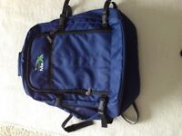 Aero Max cabin hand backpack, new, blue