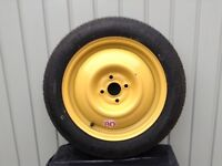 Honda Jazz Compact spare wheel
