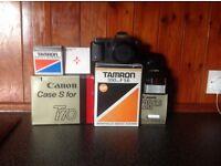 CANON T70 FILM CAMERA