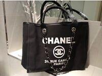 Canvas Chanel bag