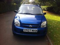 Suzuki Ignis Automatic 1.4 Engine, 5 Doors Hatchback 2007, 1 Year MOT, Metalic Blue Color