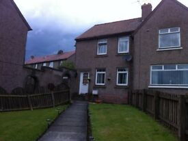 Two Bed Semi Boghall for rent