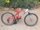 GT I drive 3.0 full suspension mountain bike
