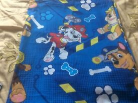 Paw patrol cotbed ( junior bed ) duvet cover only