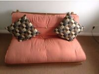 FUTON frame and mattress - great condition