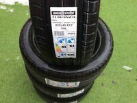 Bridgestone 225/45/17 RFT x 4 Bargain