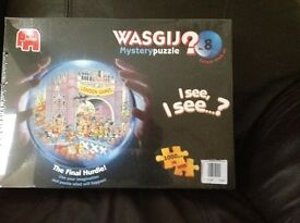 Jigsaw - Wasgij style