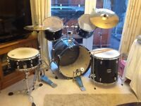 Drum set and tuner for sale