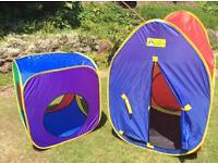 ELC pop up play tent & cube