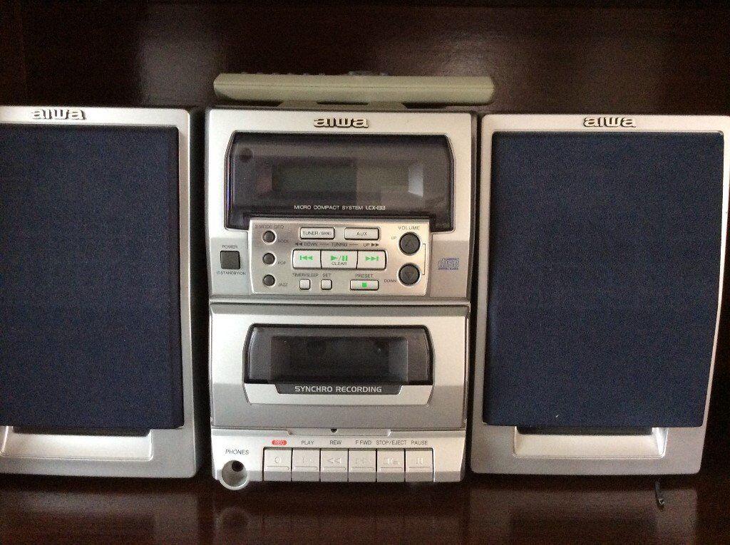 Mini HiFi system - Cassette player, CD and Radio