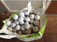 500 mixed used golf lake balls pick up only no offers