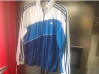 Vintage Mans Adidas Shell Jacket size Large