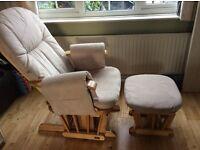 Tutti bambini gliding nursing chair