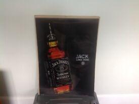 Jack Daniels 3D poster