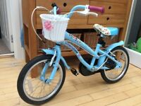 Halfords Apollo bike, 16inch Cherry Lane Bicycle excellent condition