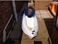 Kayak with seat
