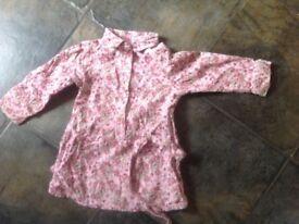 Benetton cord shirt dress Age 18 months
