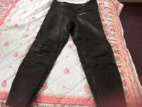 Buffalo Leather Motorcycle Trousers