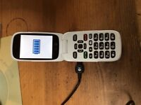 Mobile phone Doro 6520 described as a great phone for seniors. Hardly used.