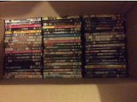 Job lot of DVDs - at least 550 - mixture of genres
