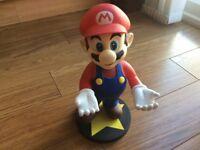 """Super Mario 12"""" vinyl figure 3DS holder"""