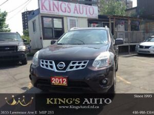 2012 Nissan Rogue SV, AWD, SUNROOF, HTD SEATS, BACK-UP CAM, TRAC
