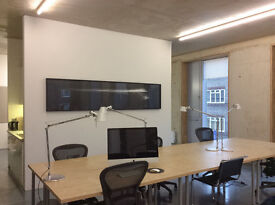 Spacious desks available near Haggerston Station and canal. Architectural practice or similar