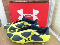 bedddcdf7fe New Men s under armour pro football rugby boots size 8.5