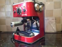 Expressivo coffee machine by DUALIT- red