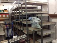 Misc warehouse racking
