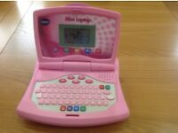 Vtech mini toy laptop pink
