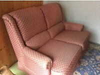 Sofa and 2 recliner chairs ...free....