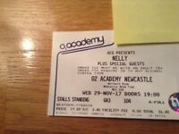 02 Academy Newcastle . Nelly and special guests