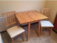 Small Table + 2 Chairs (Brand New)
